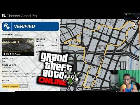 GTA 5 PS4 - I Got Rockstar Verified! (Cheetah Grand Prix GTA Online Creator Update)
