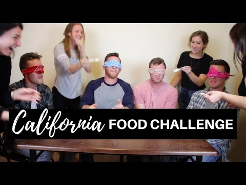 Country Boys Try California FOOD Challenge