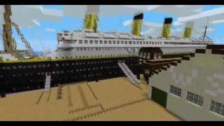 Minecraft Titanic trailer & Download
