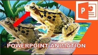 Animation Effects & Tricks in Powerpoint |  Frogs Sing and Dance