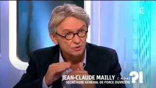 Jean-Claude Mailly sur France 5 le mardi 9 septembre à 17h30