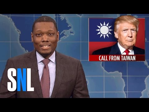 Weekend Update on Donald Trump's Taiwan Call - SNL