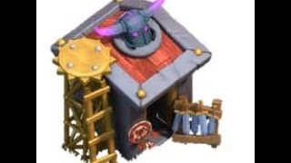 Lego review: Home Made Version Of The Max Level Barracks in clash of clans