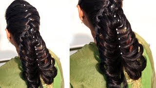 How easy is to make your hairstyle everyday - for long medium hair 2018