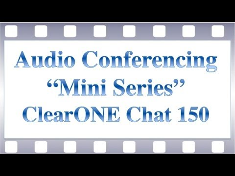 USB Microphone Review Series - ClearONE Chat 150