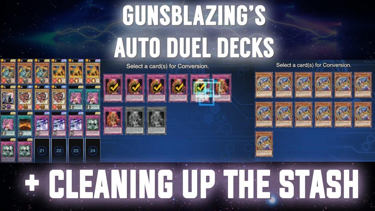 duel links auto decks