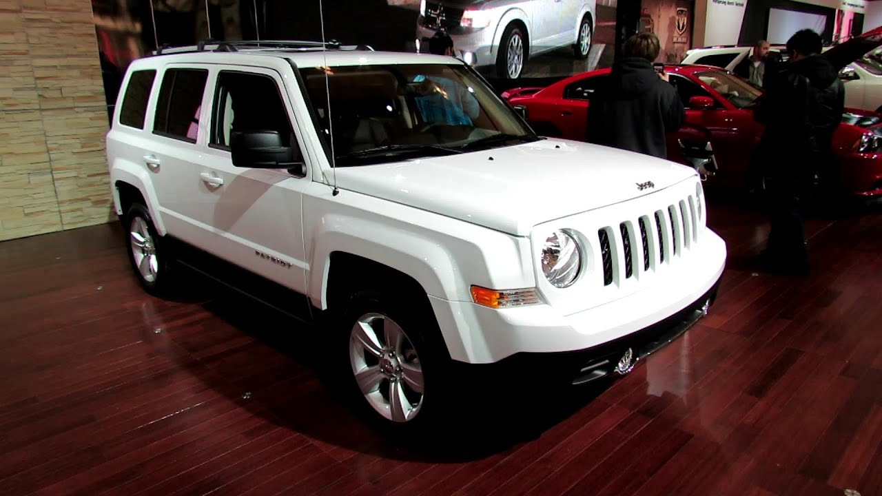 2012 jeep patriot limited exterior and interior at 2012 toronto