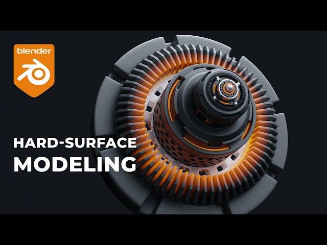 Hard-Surface моделирование в Blender