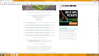 HOW TO WATCH ANY NFL FOOTBALL GAME FREE LIVE STREAMING 2013-14 thumbnail