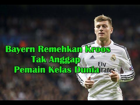 MENGEJUTKAN! Bayern Munchen Remehkan Toni Kroos dan Tak Anggap Pemain Kelas Dunia
