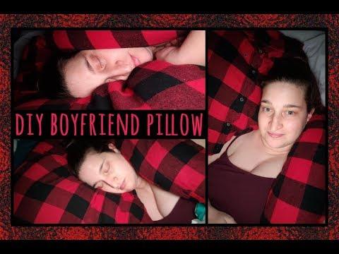 #DIY Boyfriend Pillow Tutorial
