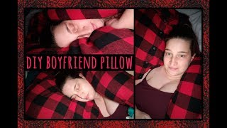 #DIY Boyfriend Pillow Tutorial