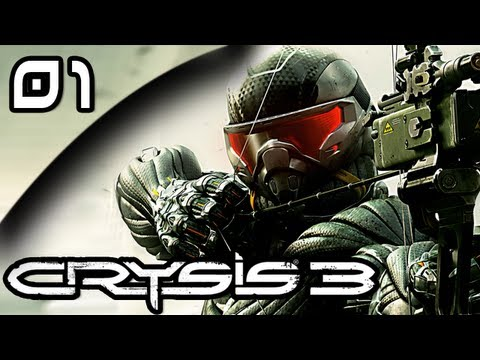 Let's Play Crysis 3 - Part 1 - Post Human - [Adaptive Stealth - PC Max Settings]