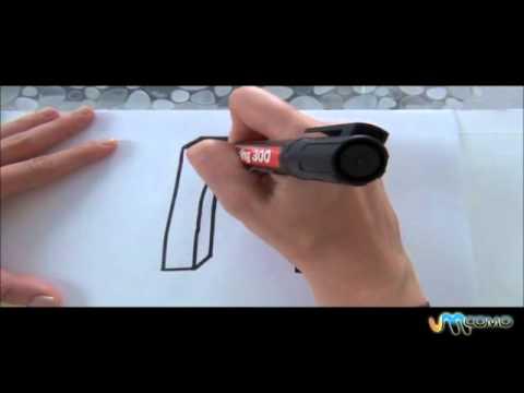 Como desenhar o M em 3D