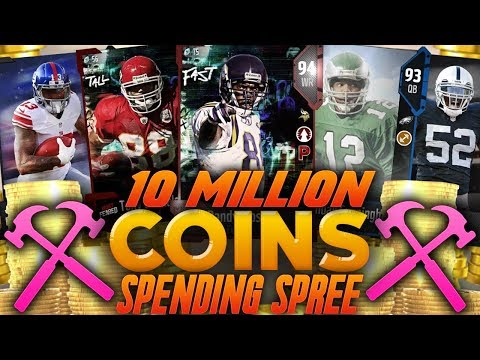10 MILLION COIN SPENDING SPREE! BUILDING THE BEST TEAM IN MU