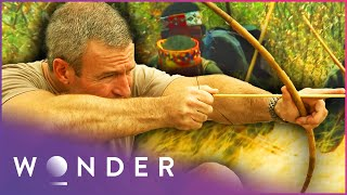 This Man Survives Amongst A Tribe In The Middle Of The Desert | Man Hunt S1 EP4 | Wonder