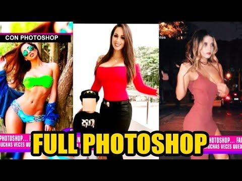 ¡QUE ABUSIVAS! LAS FARANDULERAS QUE ABUSAN DEL PHOTOSHOP EN SUS FOTOS
