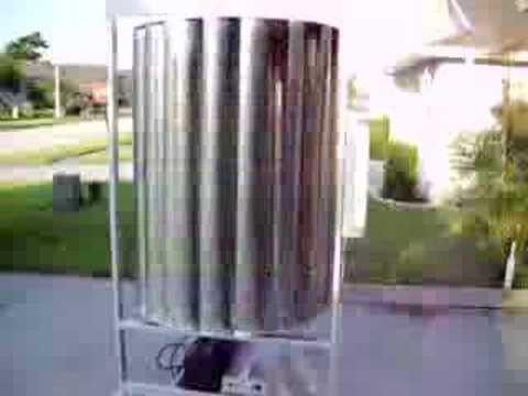 Wind Turbine 2,500 watt Electrical Generator VAWT - YouTube