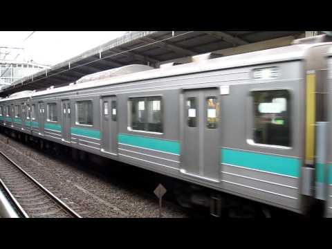 常磐線 207系@松戸駅