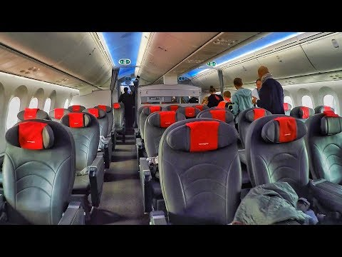 Norwegian Boeing 787 Dreamliner Amsterdam To New York | INAUGURAL FLIGHT