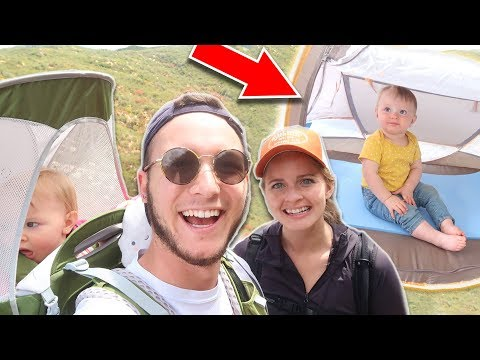 HOW TO GO BACKPACKING & CAMPING WITH BABY!! *Packing List* | The Wander Family