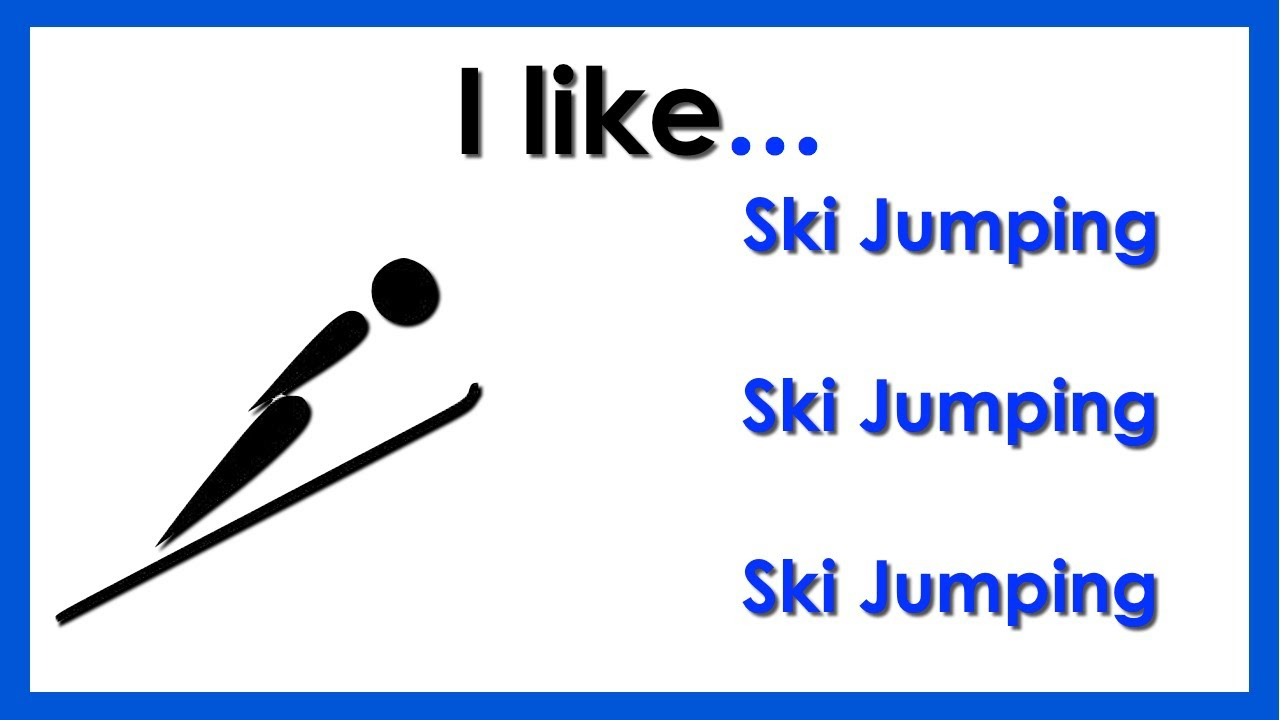 Learn Winter Olympic Sports. Easy English Conversation ...