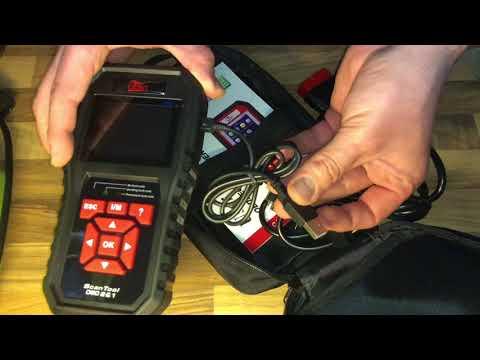 Uten OBD2 Scanner Automatic Car Error Code Reader English Diagnostic Tools Auto OBD UT850 unboxing