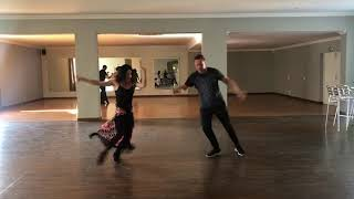 Frankie goes for dance lessons - Part 2