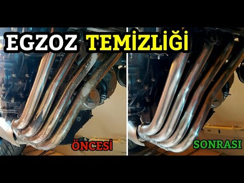 Egzoz temizliği ve parlatma | exhaust cleaning and polishing