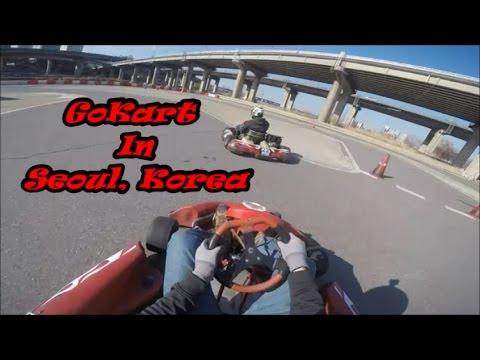 WMD Shenanigans GO-Karting in Seoul, South Korea