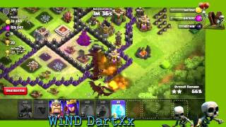 NEW Level 5 Dragons Attack - Clash of Clans