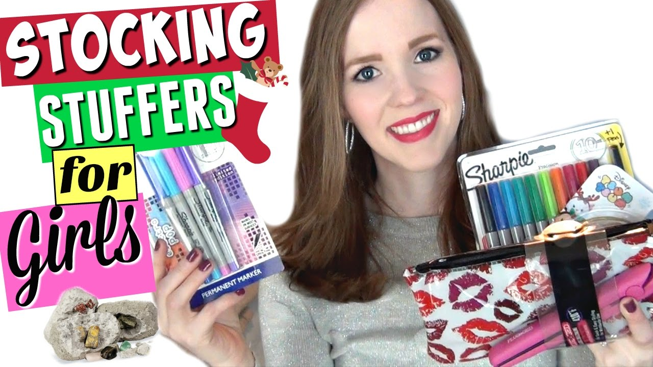 stocking stuffers for girls whats in my 12 year olds stocking youtube