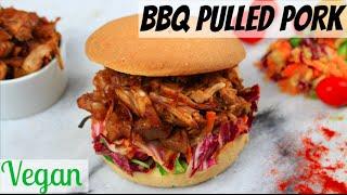 BBQ PULLED PORK VEGAN | Porc Effiloché Végétalien HCLF
