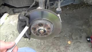 Снял колесо что бы проверить колодки и диски. а тут.....