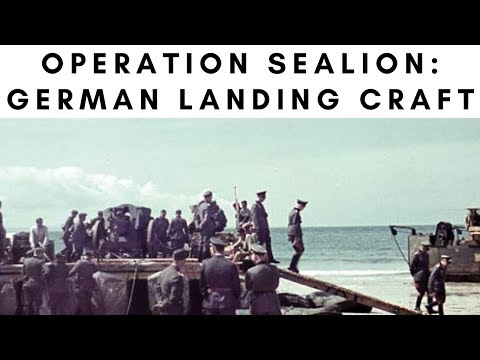 Operation Sea Lion – German Landing Craft