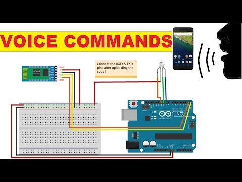 Tutorial On Bluetooth Sensor HC05 With Arduino | Voice Commands