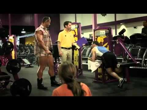 09c53ac821 I lift things up and put them down -Planet Fitness Commercial-HD ...