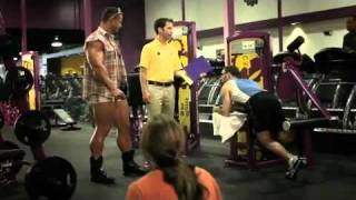 I lift things up and put them down -Planet Fitness Commercial-HD