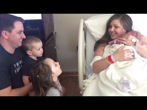 10lb baby Miracle from Heaven! feat. Chloe and Mathis.