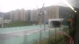港鐵沙中線顯徑站(部分高架橋經完成)