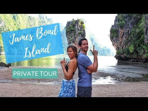 How To Get A Private Tour of James Bond Island | Kathryn Tamblyn | Thailand Vlog