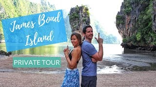 How To Get A Private Tour of James Bond Island   Kathryn Tamblyn   Thailand Vlog