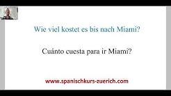 Spanisch lernen in Zürich. ✅ Wie viel kostet das? auf Spanisch - Cuánto cuesta