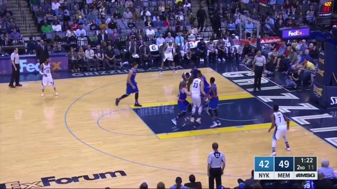 Maurice Ndours Knicks highlights 2017