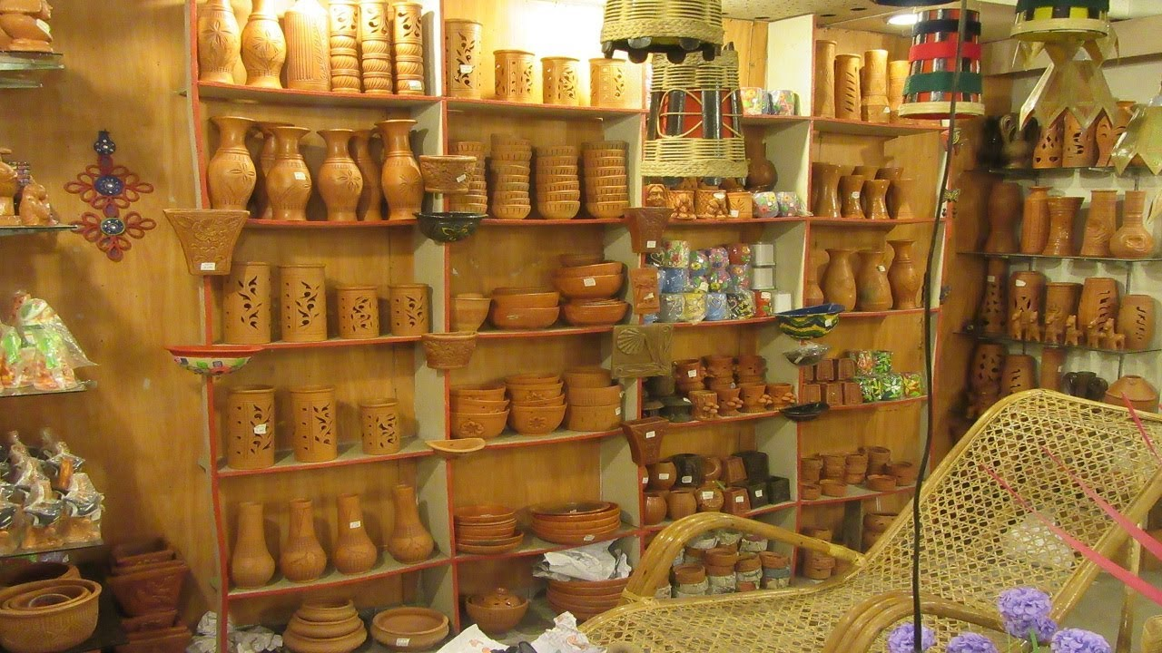 Handicrafts Shop In Bangladesh