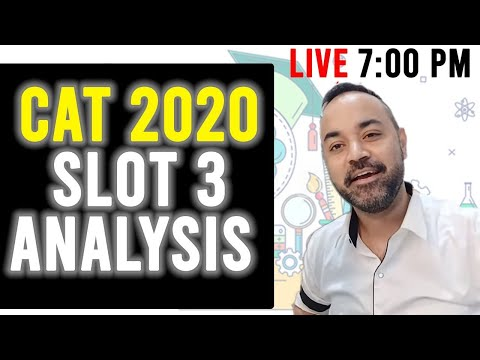 CAT 2020 Slot 3 Analysis By CATKing