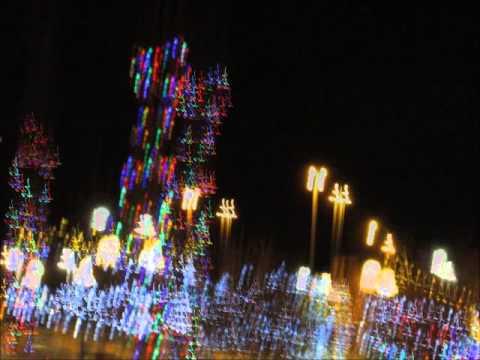 Christmas Lights Starry Night - YouTube