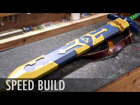 Breath of the Wild Sword Scabbard -  Zelda Speed Build