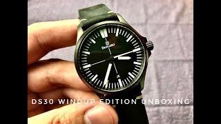 Damasko DS30 Windup Watch Shop Edition Unboxing