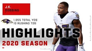 J.K. Dobbins Full Rookie Season Highlights | NFL 2020